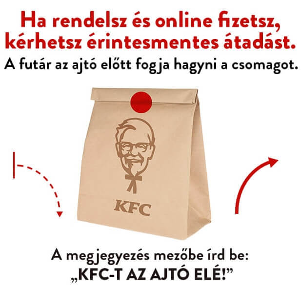 KFC Contactless Delivery Image